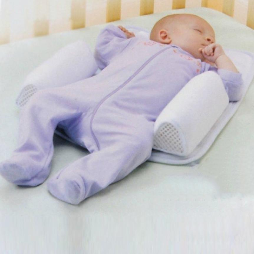 Baby Anti Roll Pillow The Best Baby Sleep Positioner Inspire Uplift