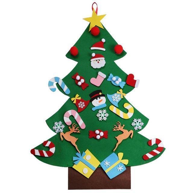 DIY Kid's Christmas Tree Set