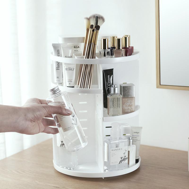 360 Rotating Makeup Organizer