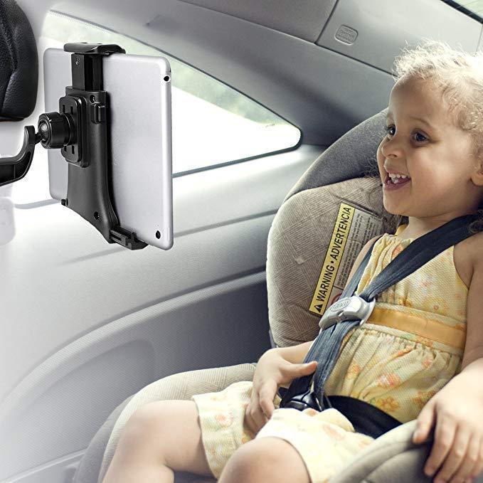 Car Seat Headrest Mount Tablet Holder
