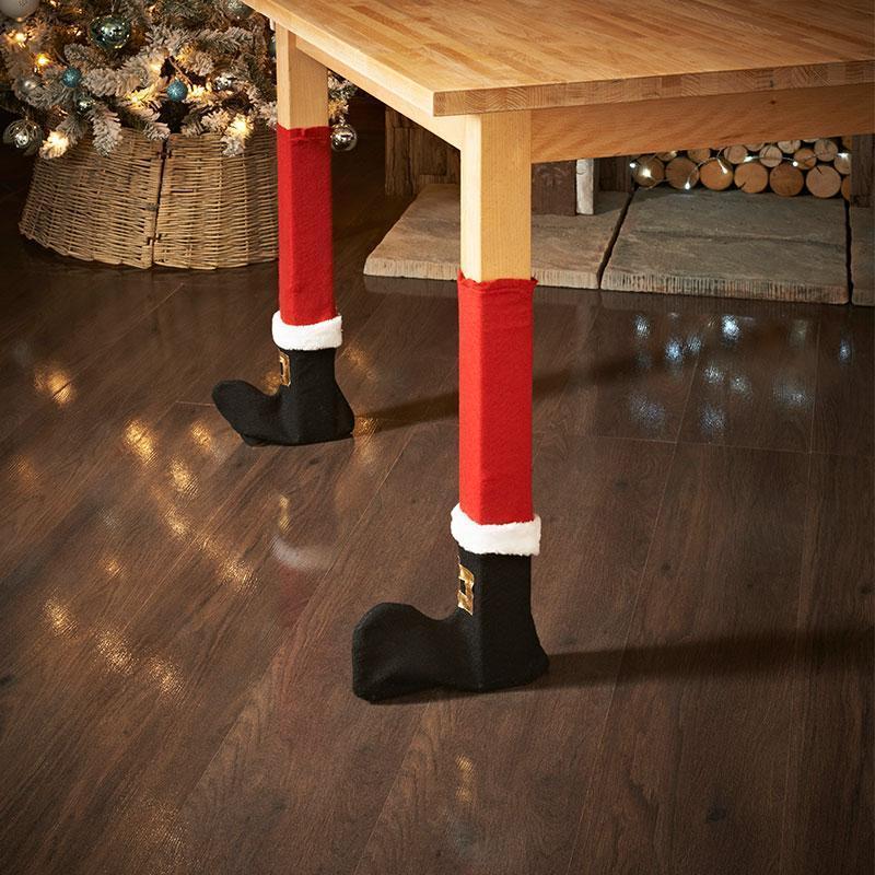 Christmas Chair Socks