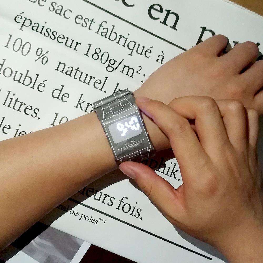 Digital Paper Watch
