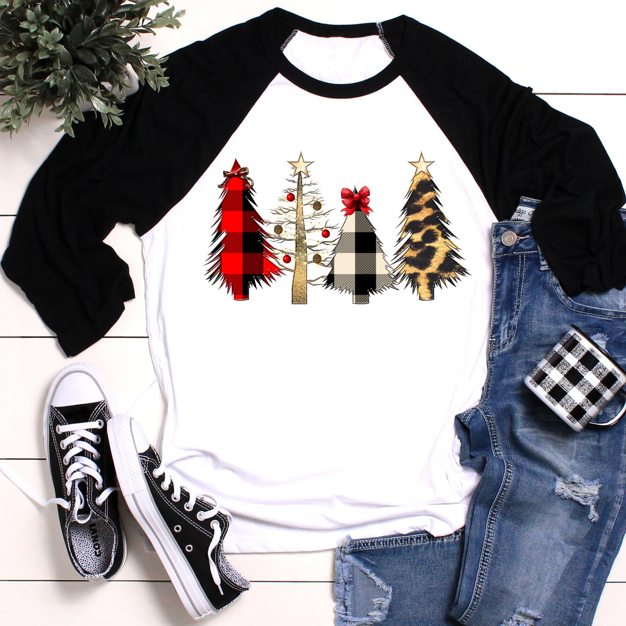 Merry Christmas Trees Shirt