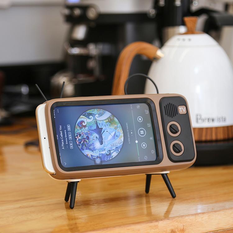 Vintage Mini Wireless Speaker