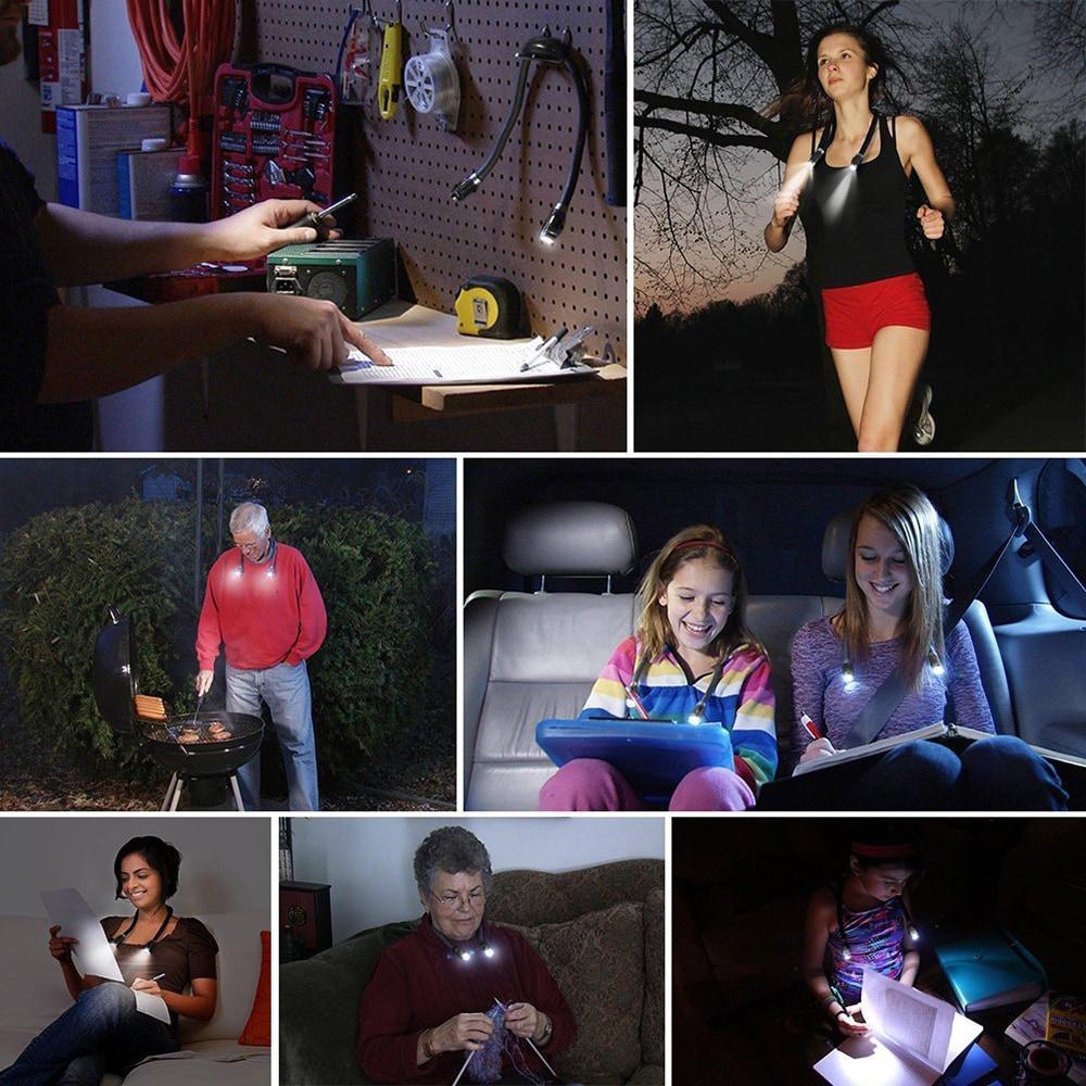Hands-Free Portable Led Light
