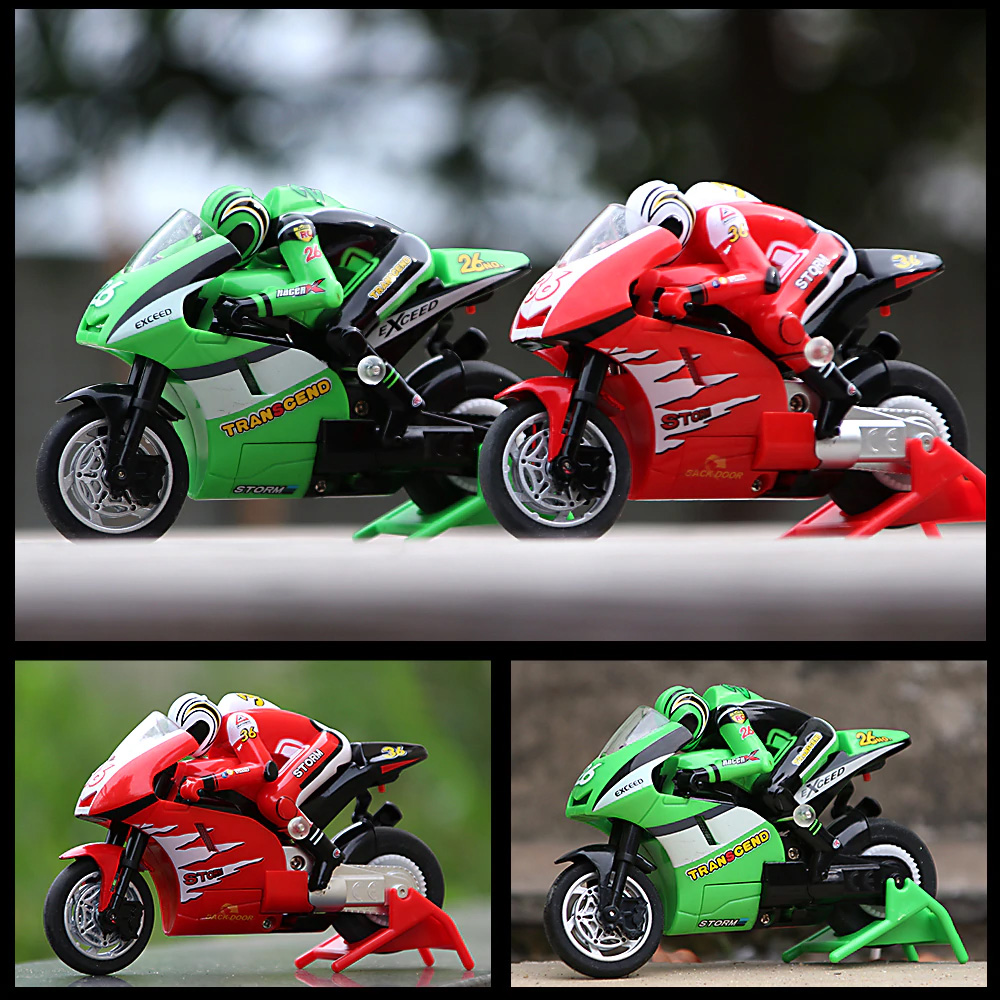 Rechargeable RC Motorcycle Toy