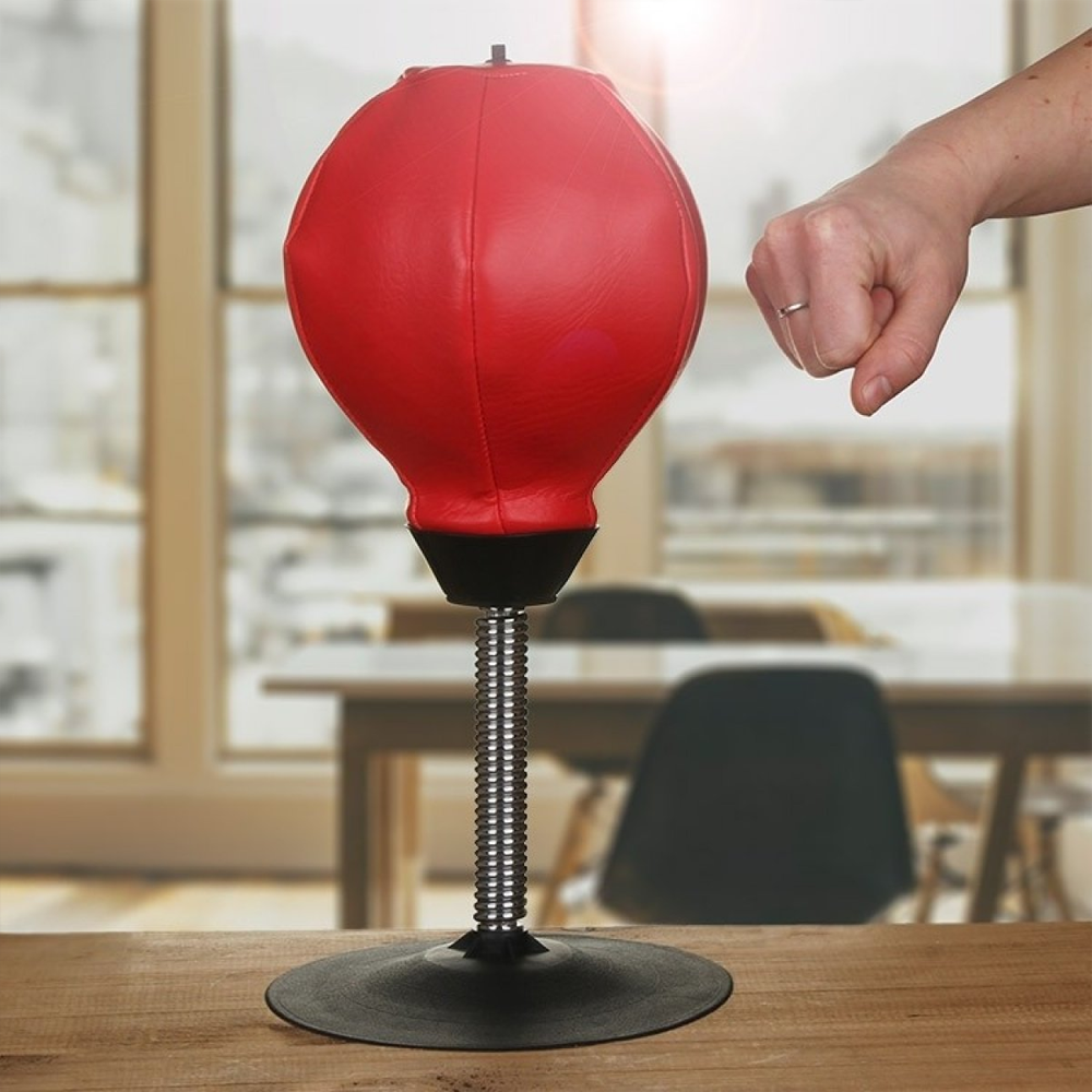 Stress Relieving PU Desktop Punching Bag For Office & Home