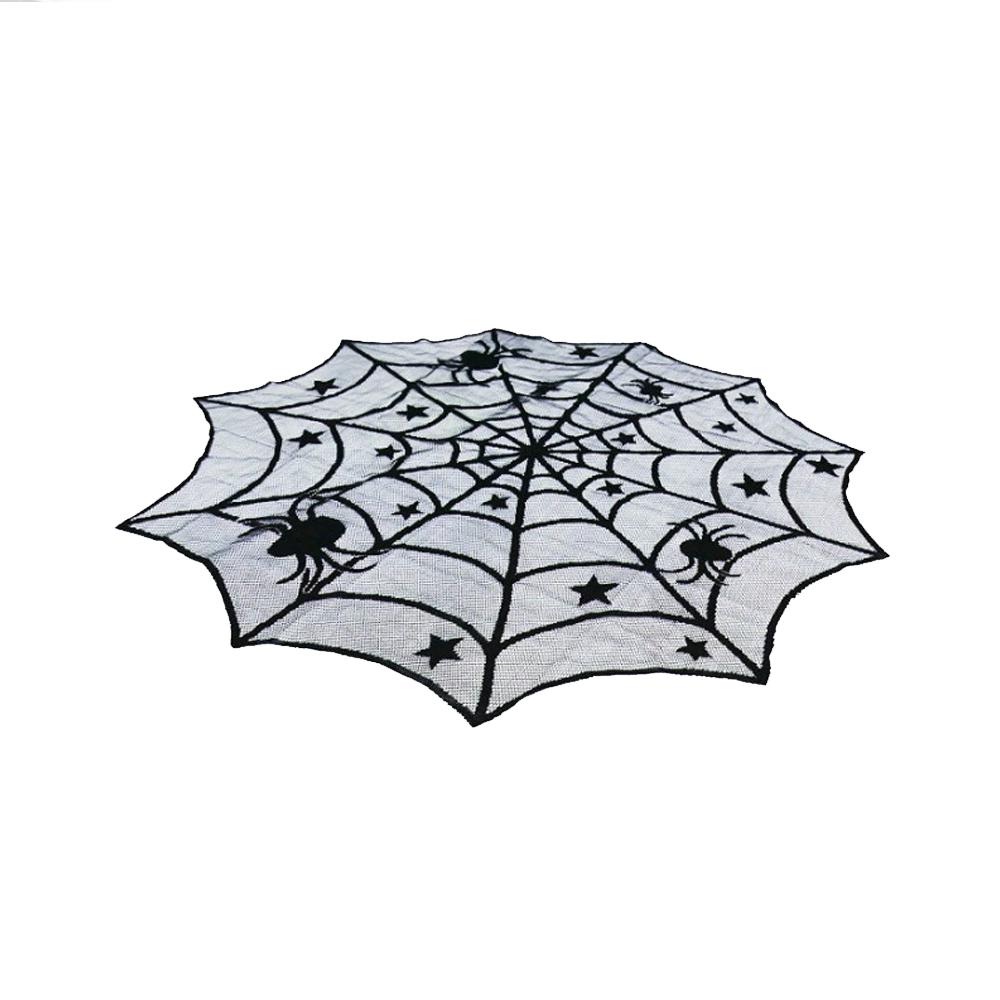 spiderwebtablerunnerround