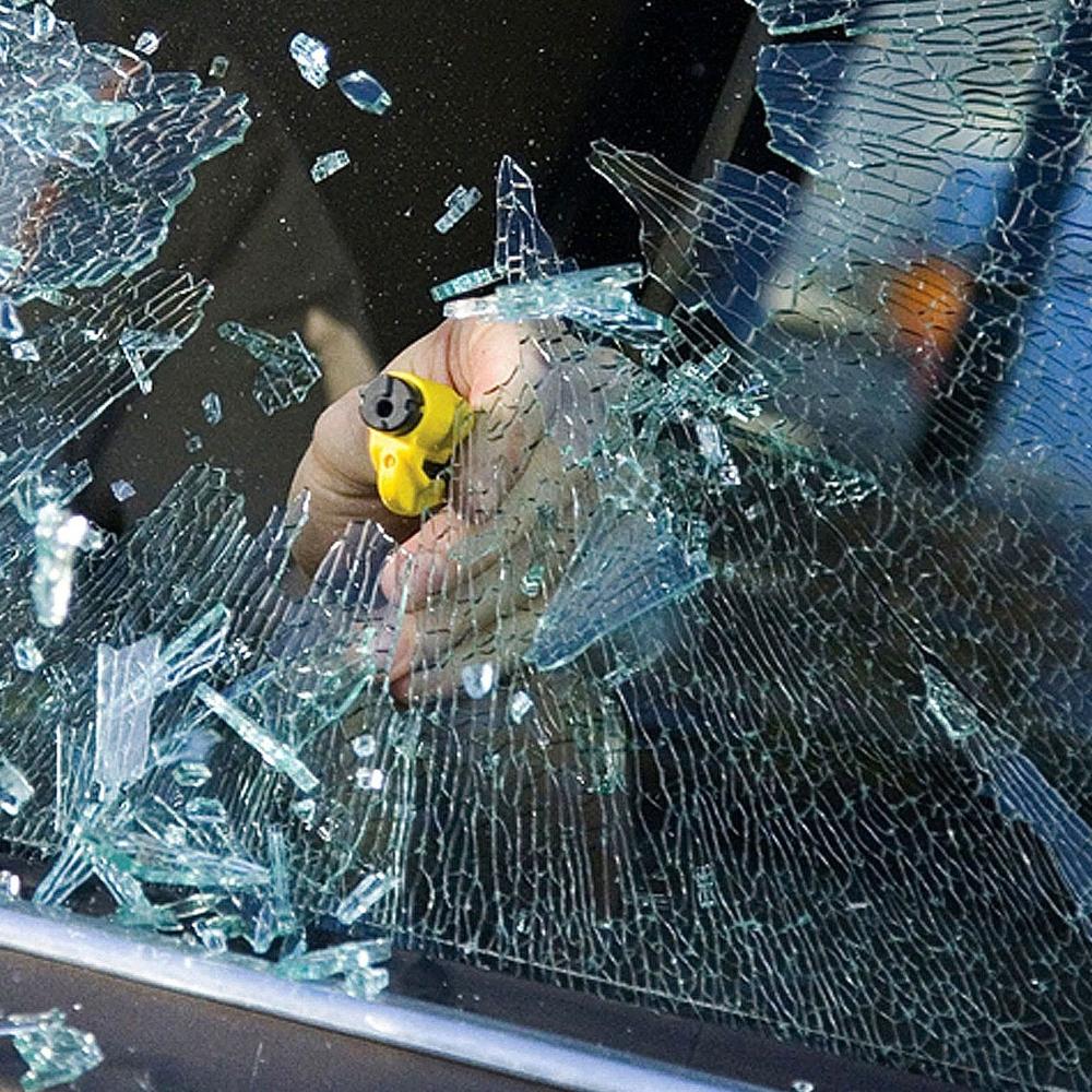 Car Window Breaker Keychain & Seatbelt Cutter