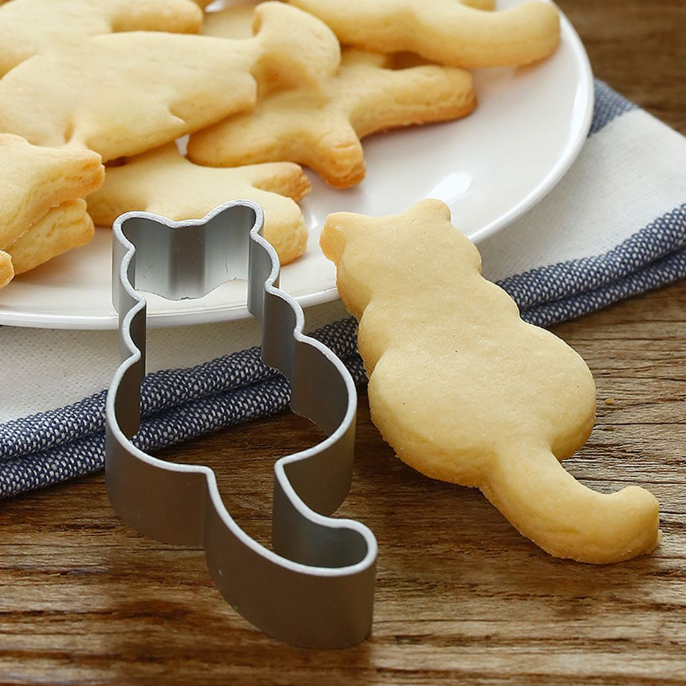 Cat Shaped Cookie Cutter For Baking