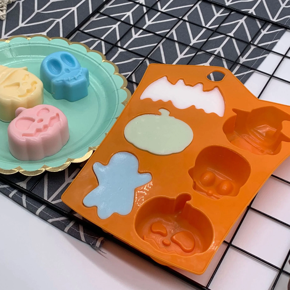 Cute Halloween Silicone Molds