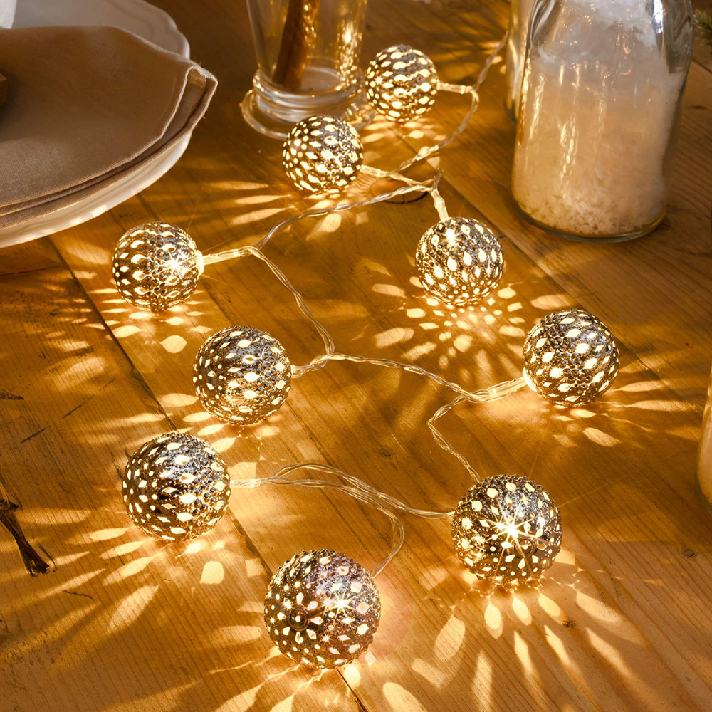 Decorative Moroccan String Lights For Indoor & Outdoor