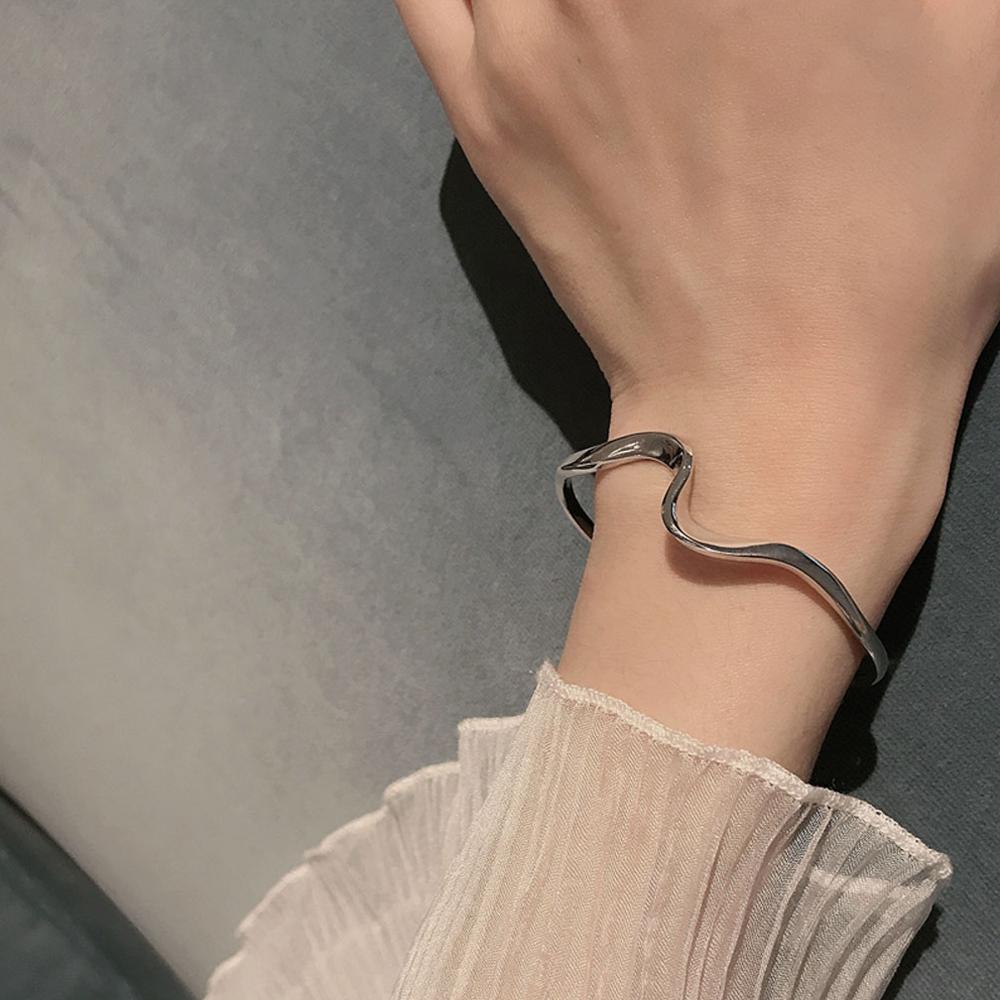 Delicate Wave Bracelets Ocean Jewelry