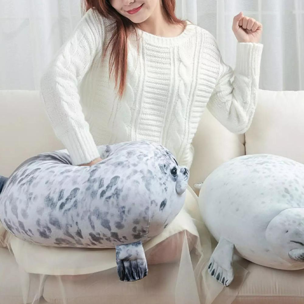 Fat Seal Plush Pillow & Cushion