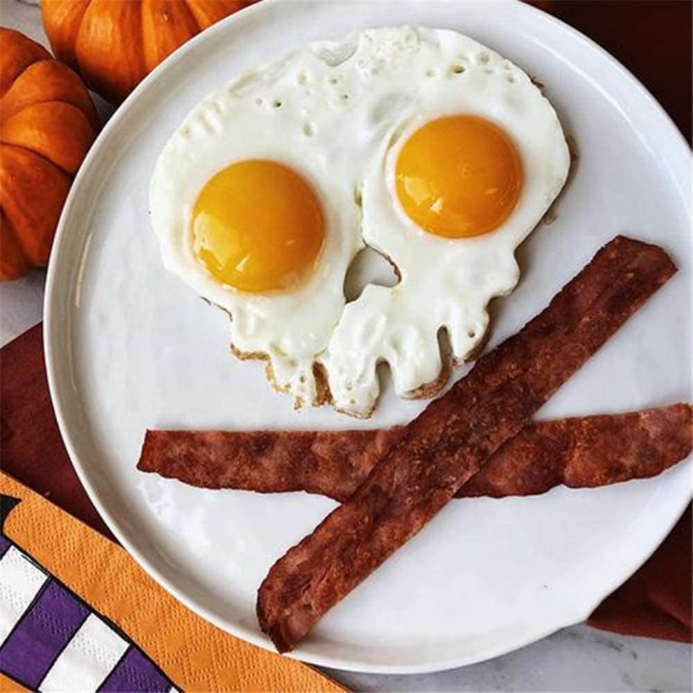 Food Grade Silicone Skull Shaped Egg Frying Mold