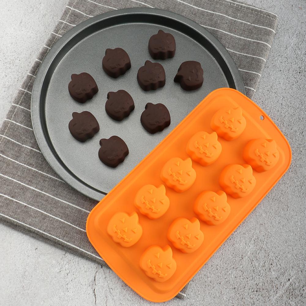Halloween Pumpkin Silicone Mold