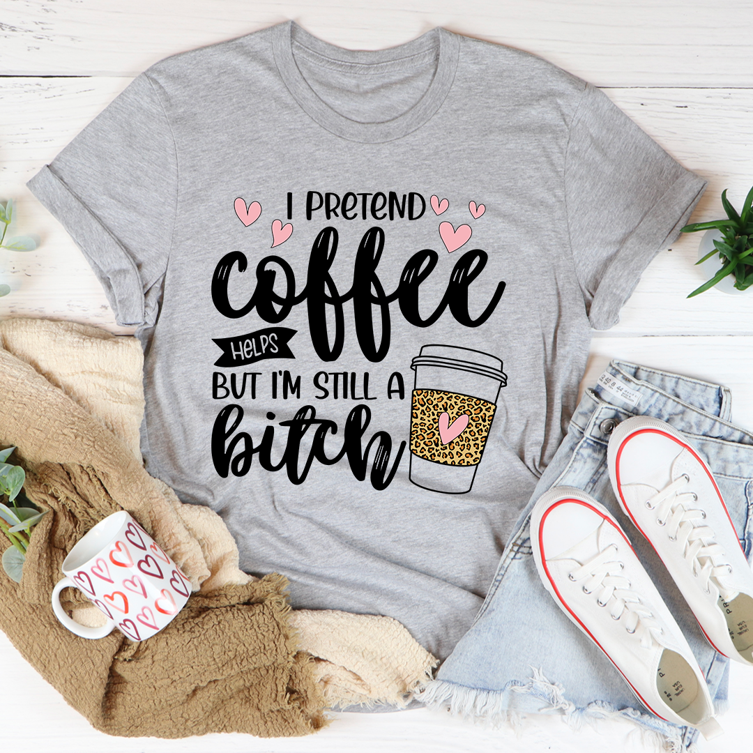 Ipretendcoffeehelpsltgray