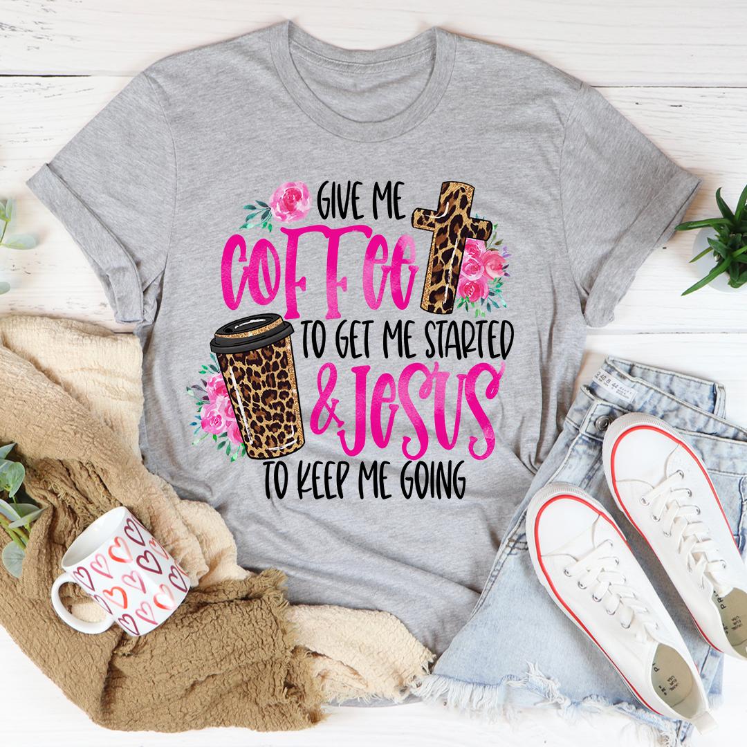 Jesus & Coffee Tee