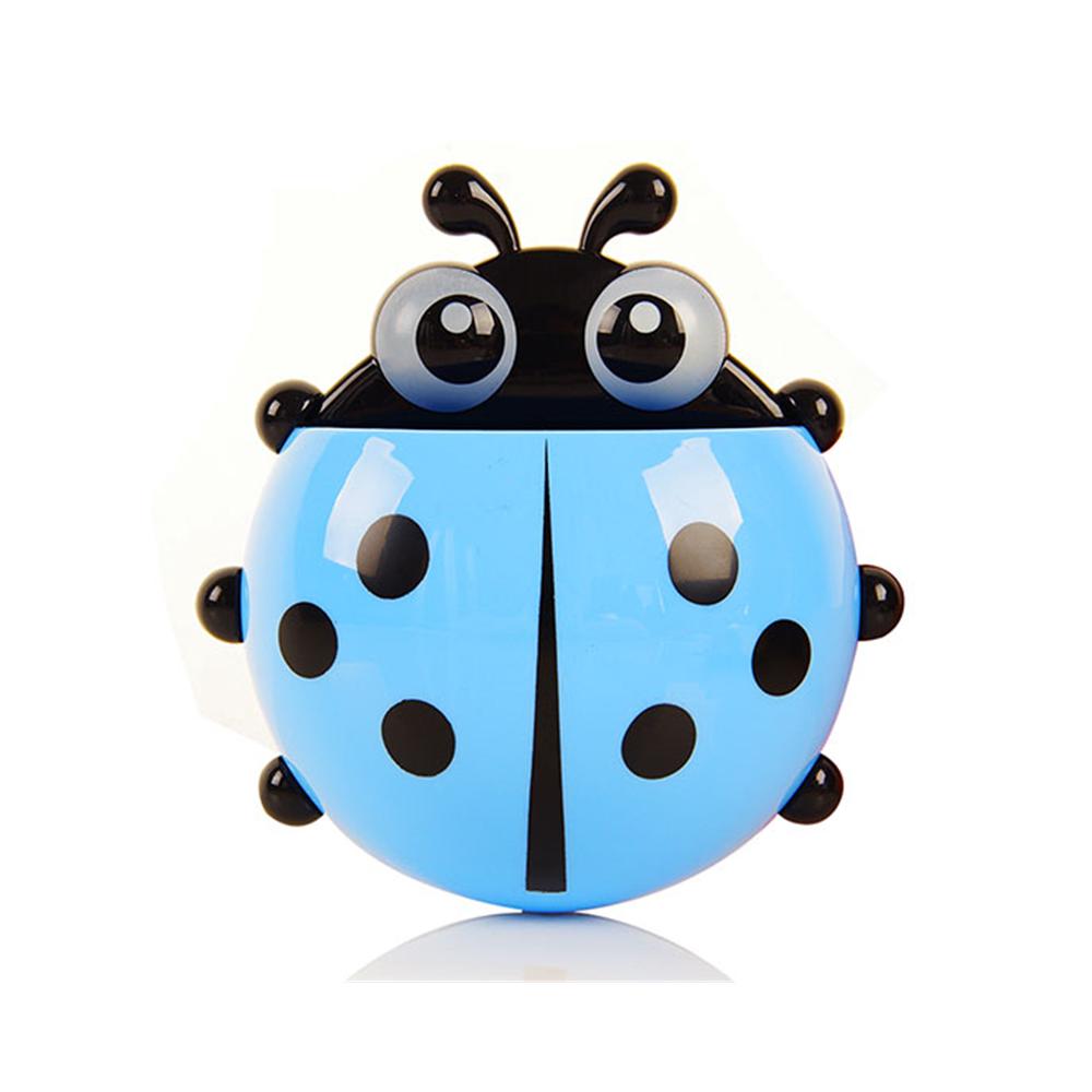 ladybugtoothbrushholderblue