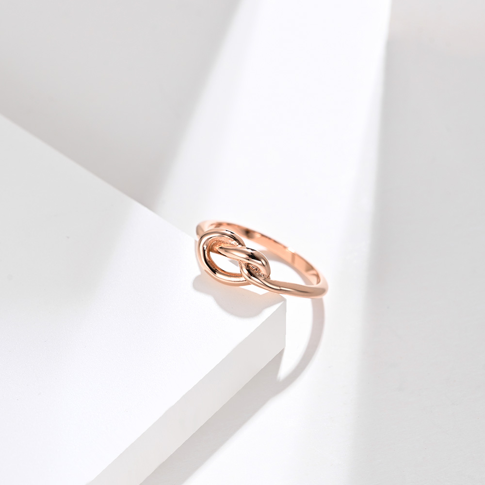 Love Knot Ring - Rose Gold/6