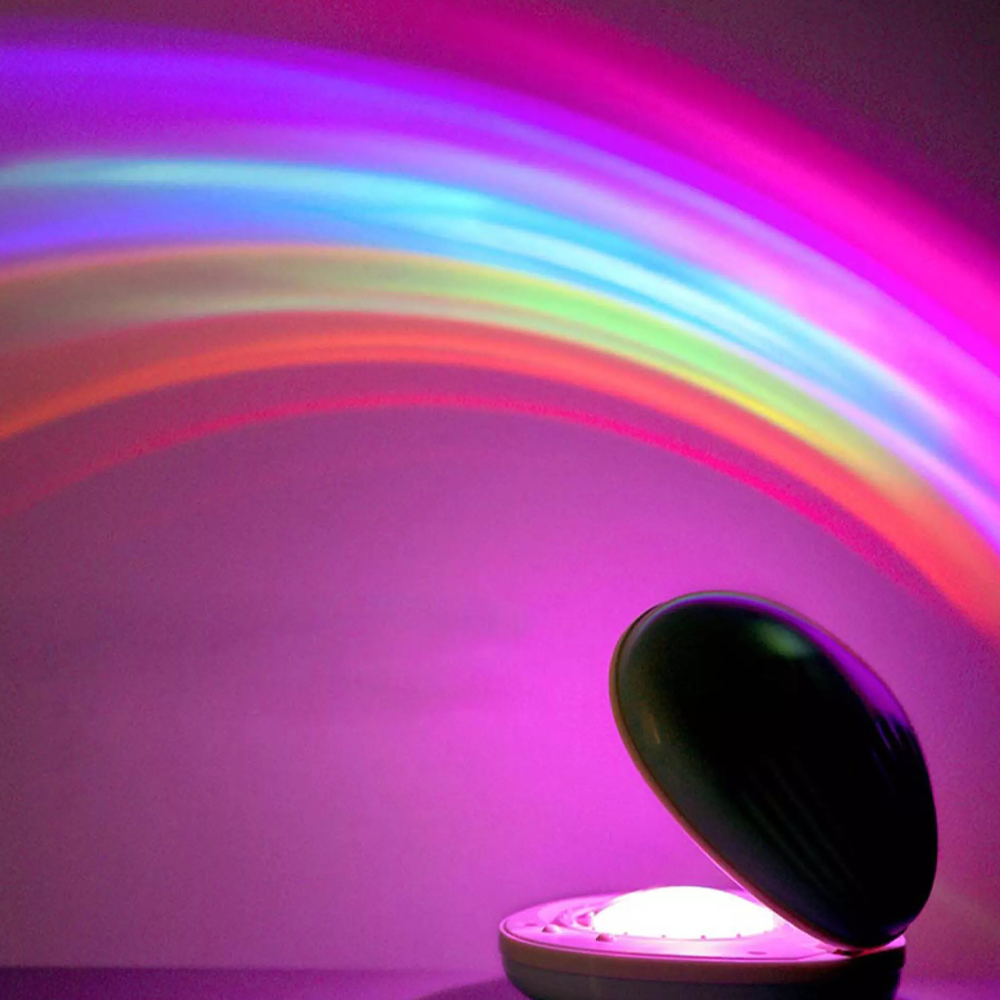 Magical Rainbow Projector Lamp & Night Light
