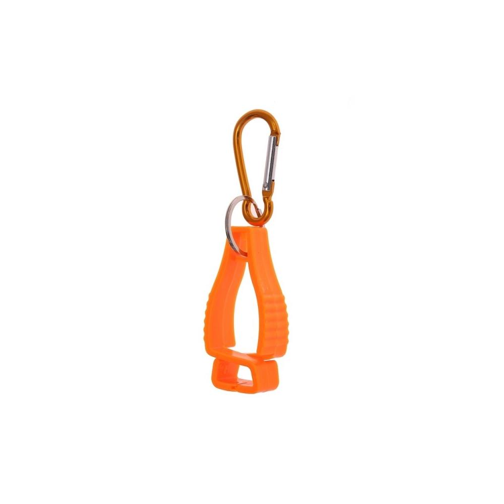 Multifunctional Glove Holder Belt Clip - Orange