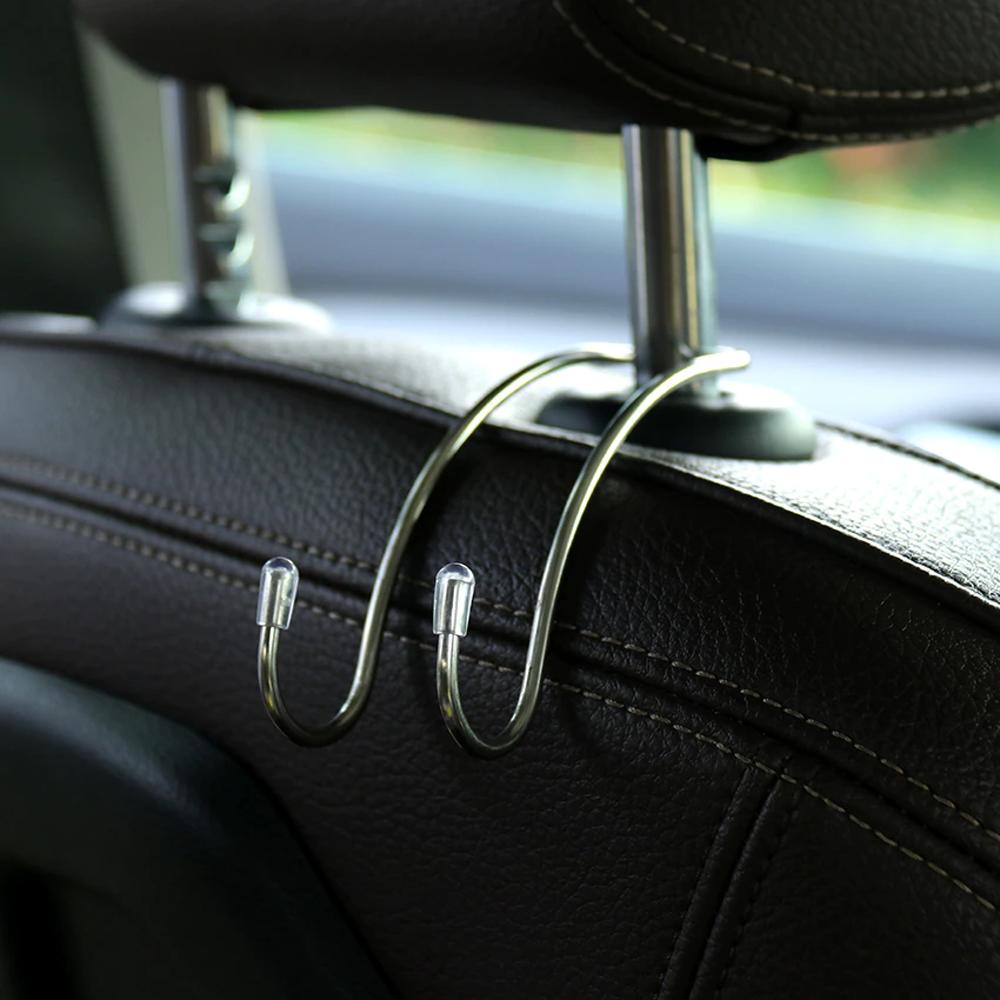 Multifunctional Stainless Steel Car Hooks Seat Hanger