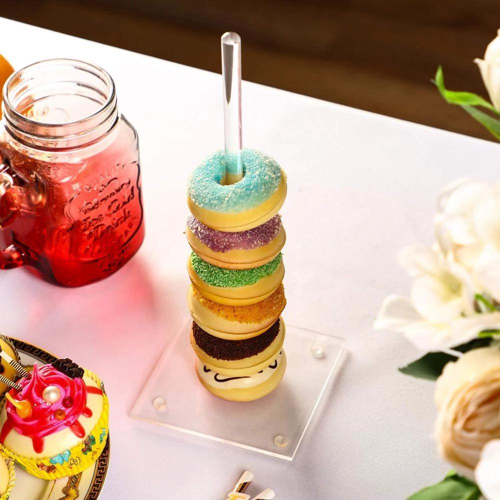 Ring Donut Holder Stand For Fancy Serving