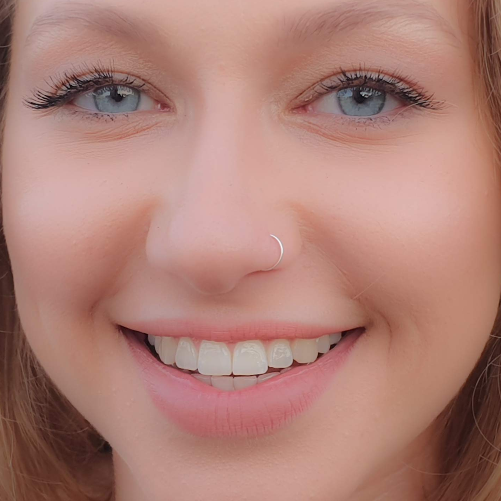 Seamless Ultra Thin Nose Hoop Ring