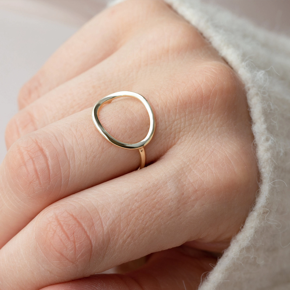 Simple Design Circle Ring