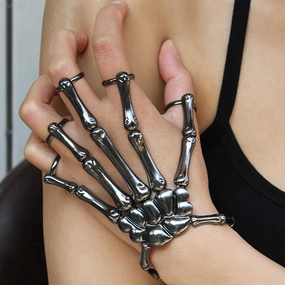 skeletonhandringbracelet1
