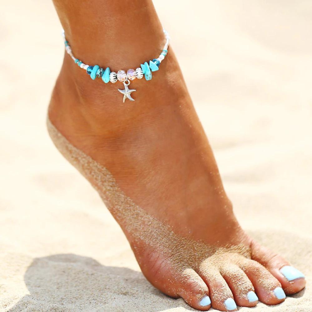 Starfish Ankle Bracelet Charm