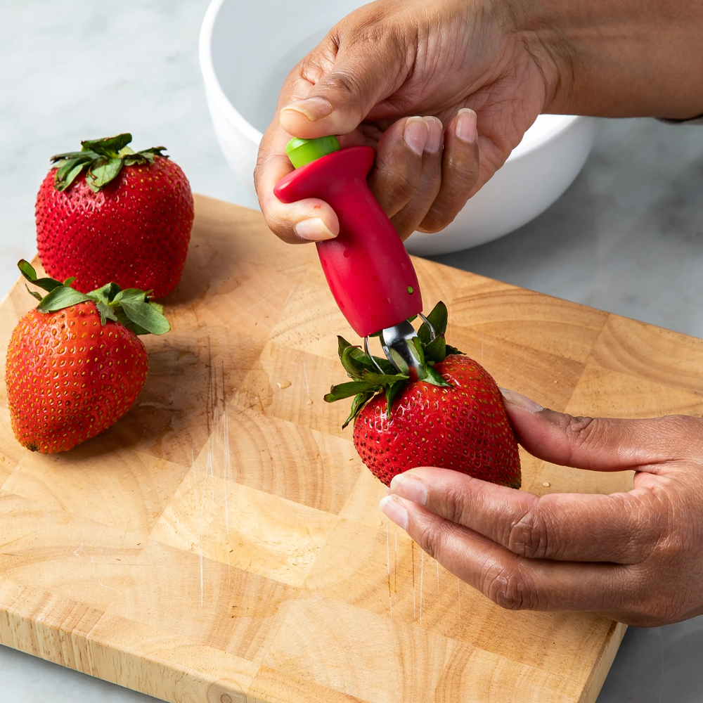 Strawberry Huller Tool