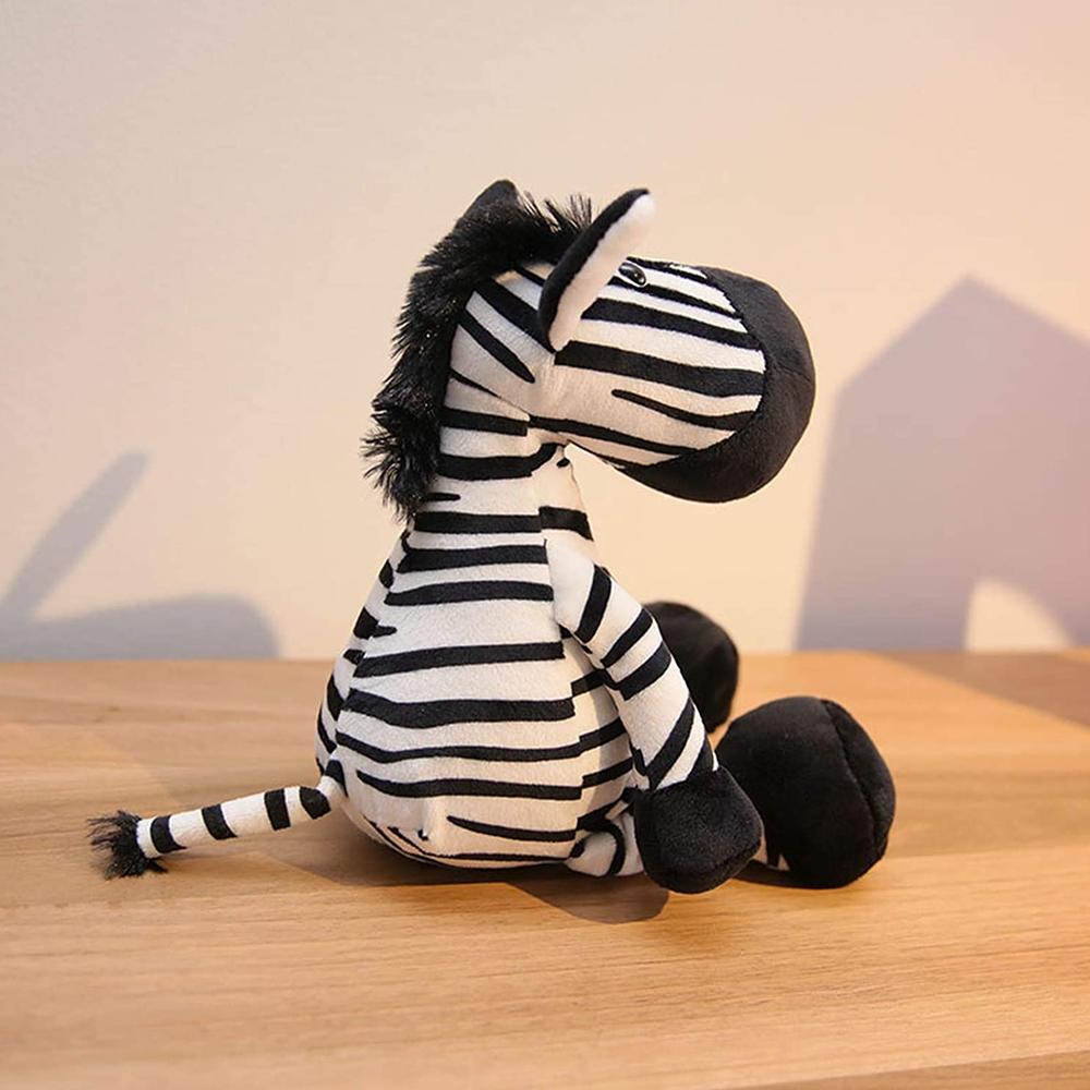 Stuffed Zebra Plush Toy For Kids