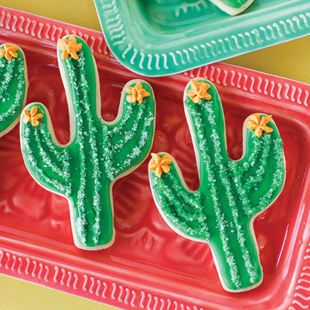 Succulent Cactus Cookie Cutter