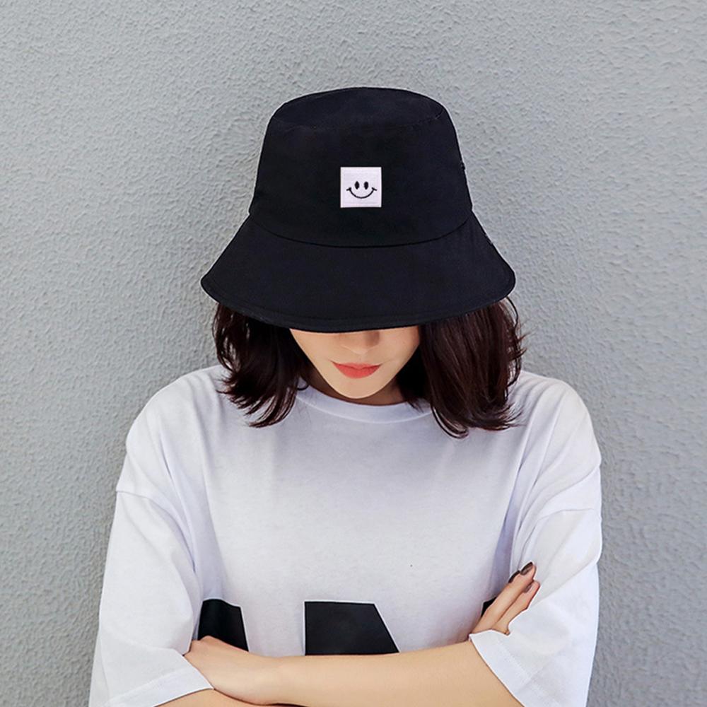 Trendy Emoji Smiley Face Bucket Hat
