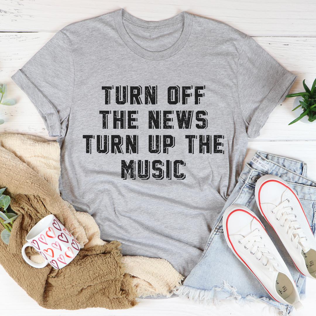 Turn Up The Music Tee