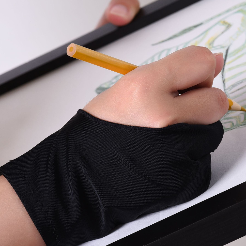 Two Finger Drawing Tablet Glove