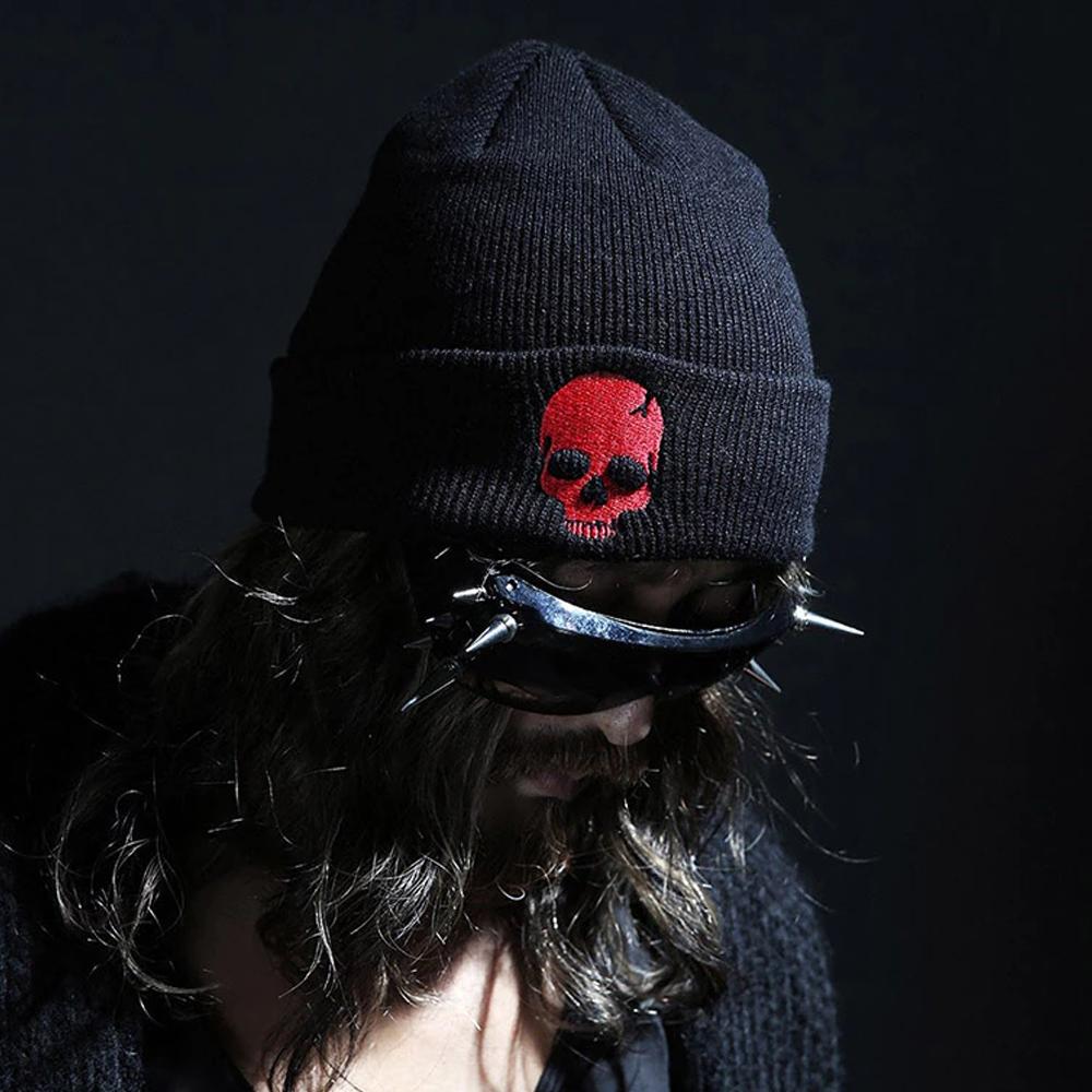 Unisex Skull Beanie Hat For Winters