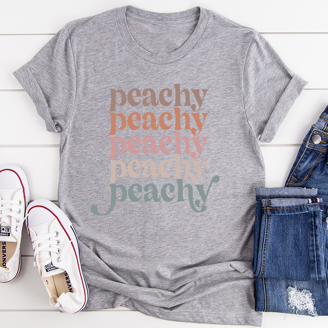 Vintage Colors Peachy Tee - Athletic Heather/S