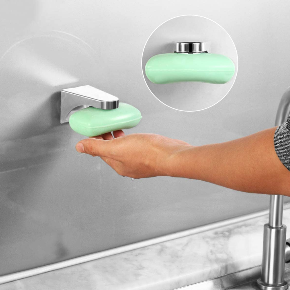 Wall Mounted Magnetic Soap Holder