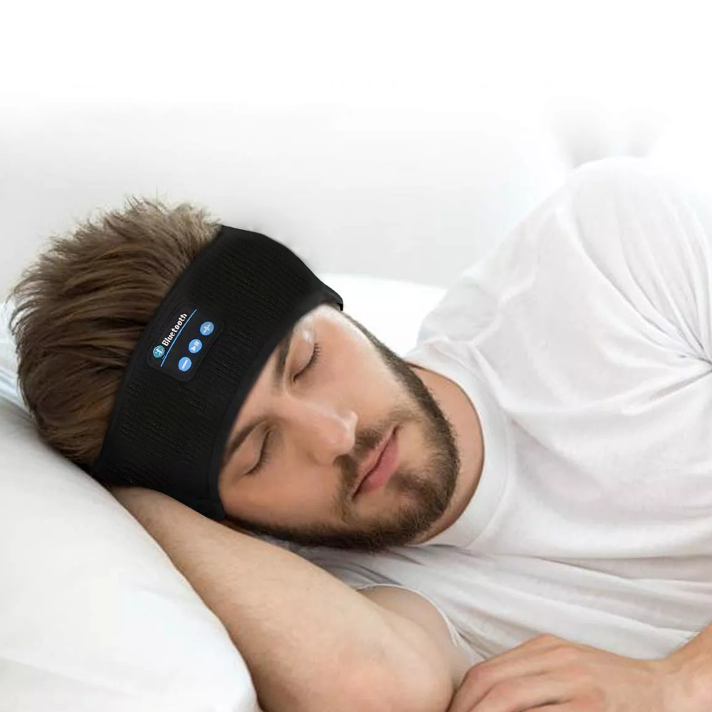 Wireless Bluetooth Headband For Running, Exercise & Sleeping