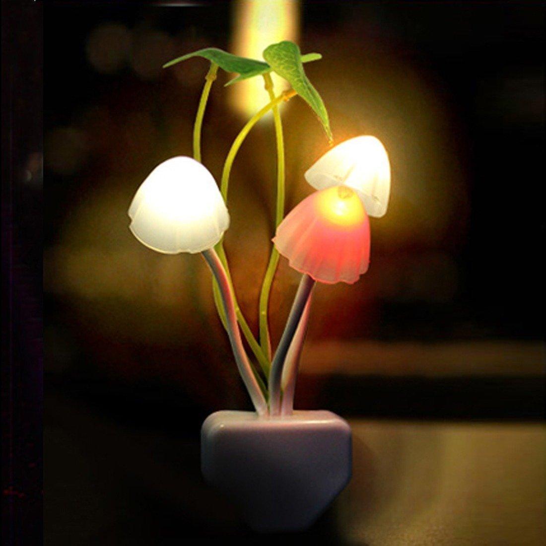 幸运蘑菇夜灯