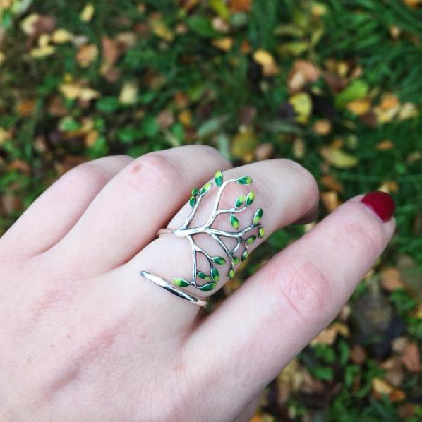 橄榄树戒指