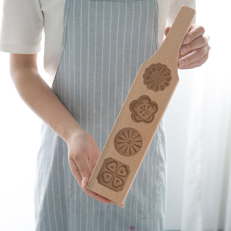 Wooden Cookies Mold