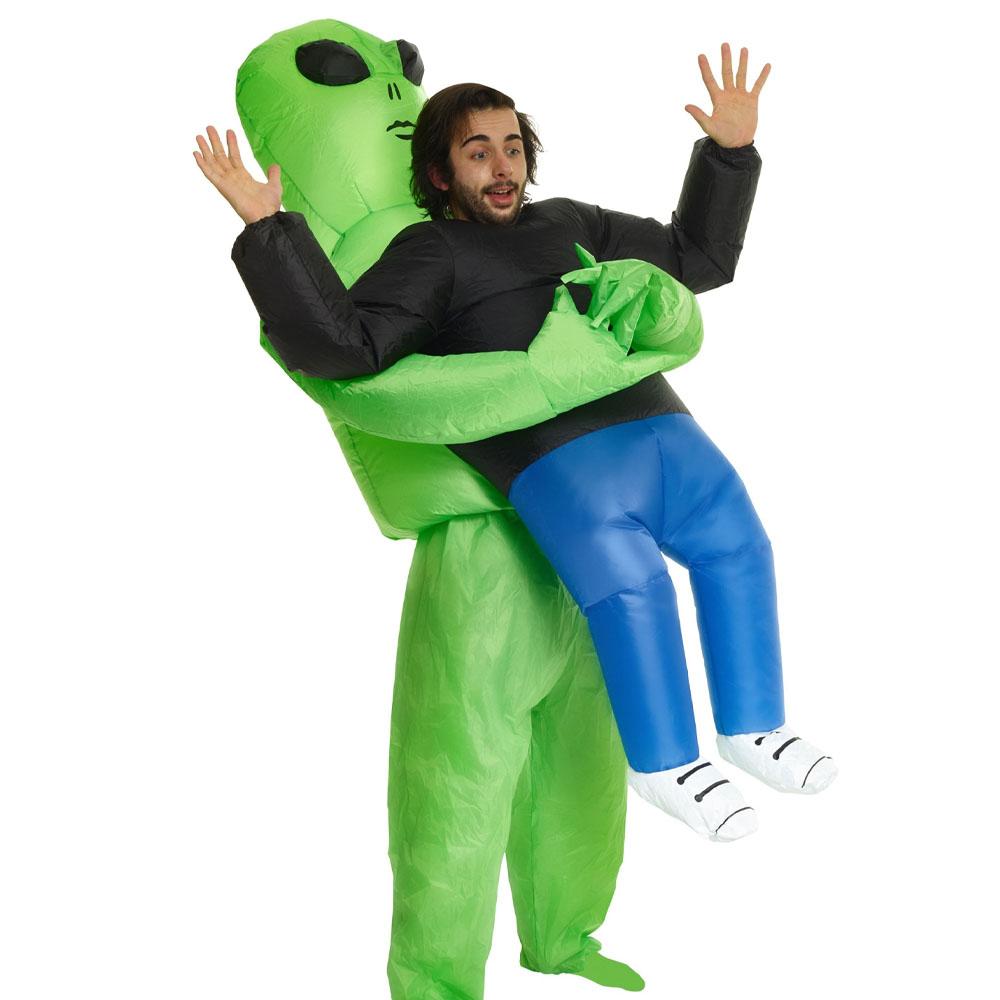 Alien Carrying Human Costume