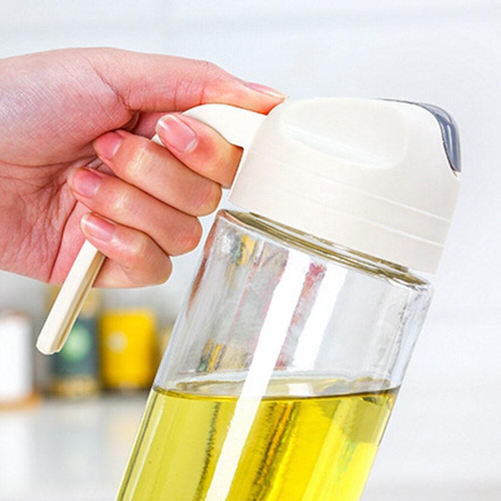 Auto Flip Olive Oil Dispenser Bottle