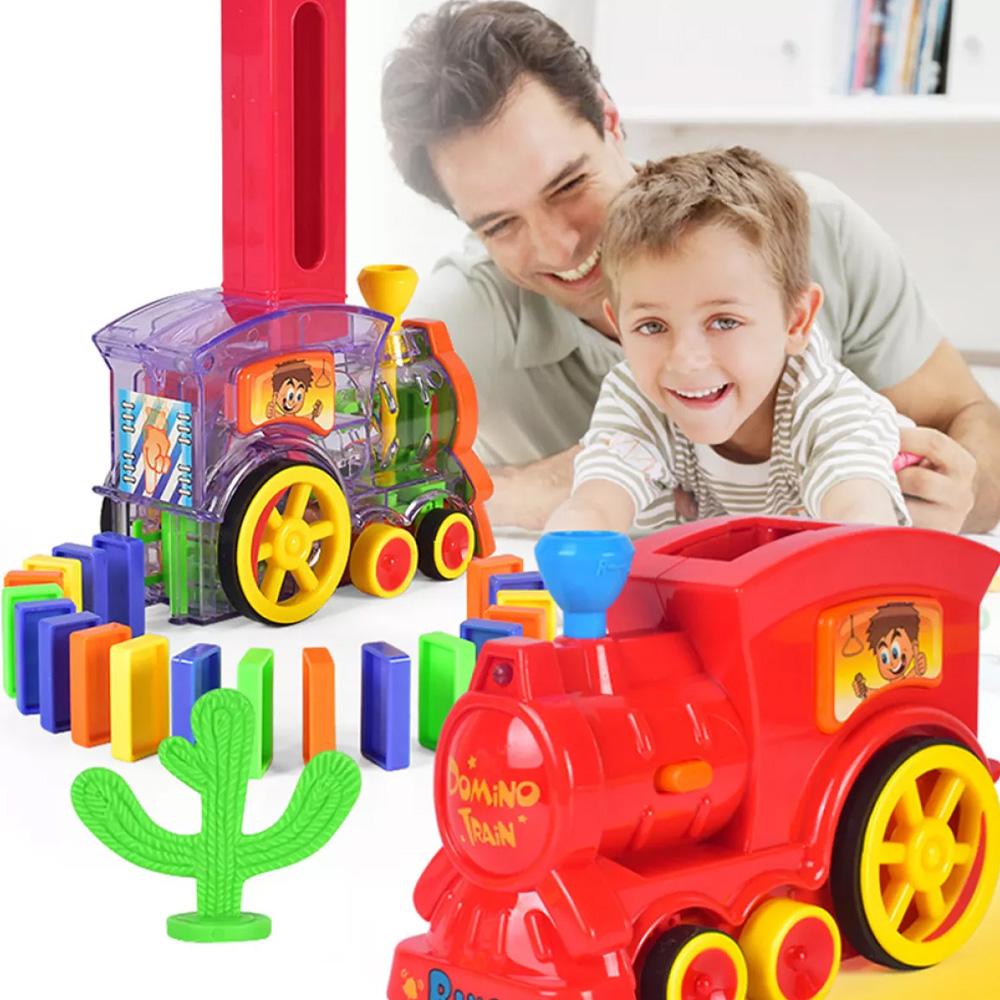 Automatic Domino Train Toy