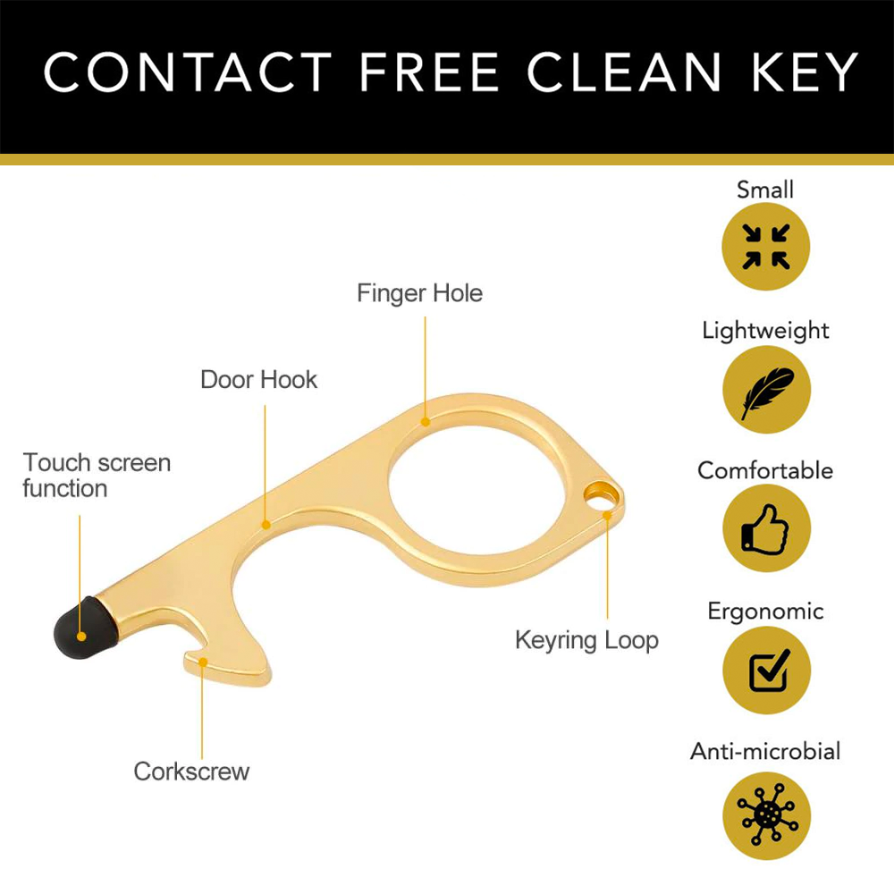Anti-Germ No Touch Key For Everyday Use