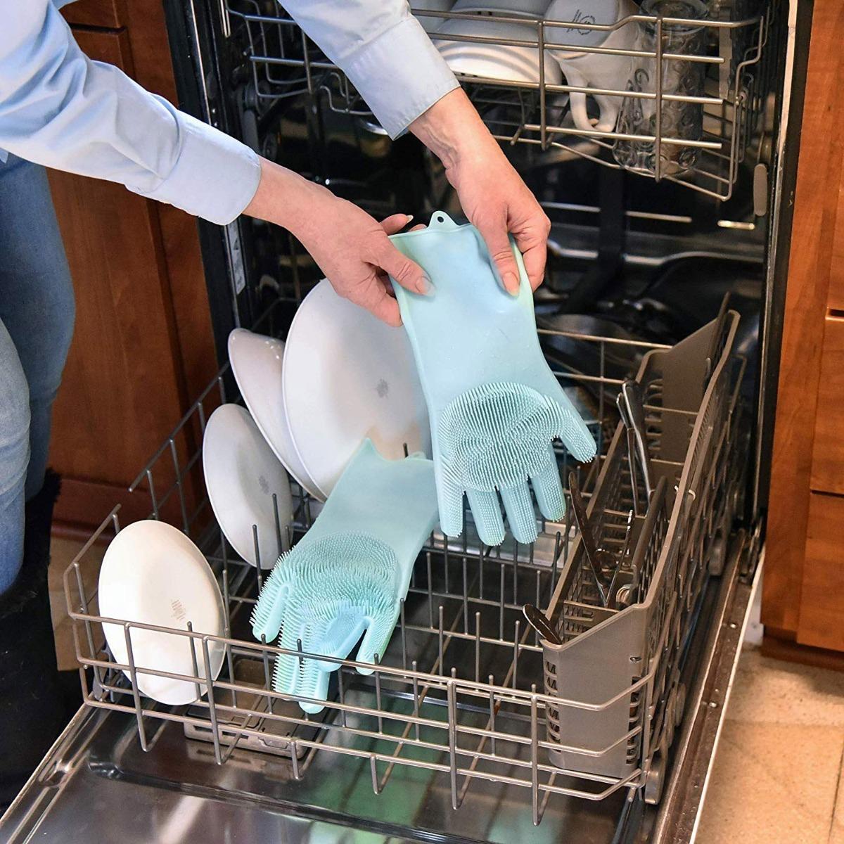 Original Magic Dishwashing Gloves (BPA Free)